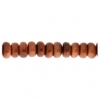 Goldstone 6mm Rondelle (Flat Round) 44pcs Approx